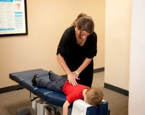 Chiropractic Powell OH adjustment child