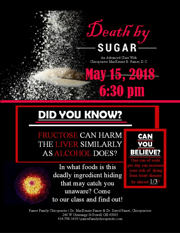 Death By Sugar Event at Pamer Family Chiropractic